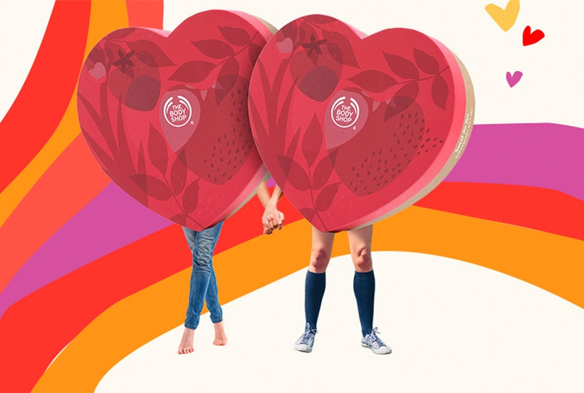 The Body Shop - Valentine's Day