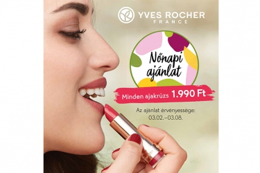 Yves Rocher women'sday offer