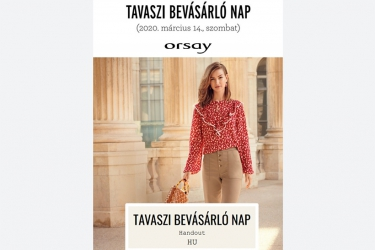 Orsay spring shopping day