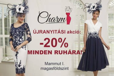 Charm reopen promotion