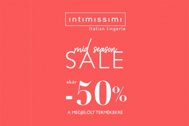 Intimissimi Mid Season sale