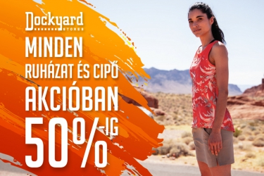 Dockyard promotion: up to 50% off