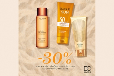 Douglas: suncare products with 30% off