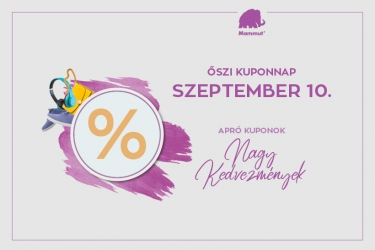 Coupon day: 10 September