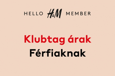 H&M Member prices for men