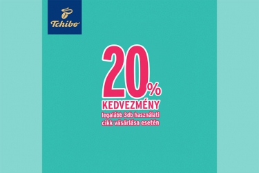 Tchibo 20% offer: 10-13 September