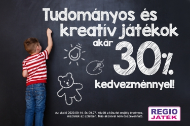 Creators' offer in REGIO JÁTÉK