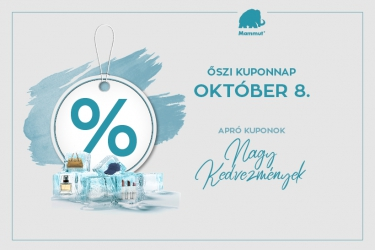 Autumn coupon day: 5 November