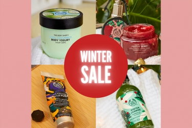 The Body Shop: winter offers