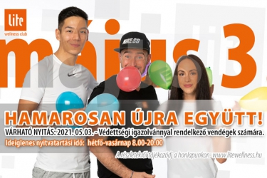 Lite Wellness Club: Opening!