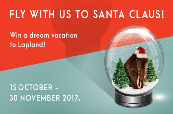 FLY WITH US TO SANTA CLAUS!