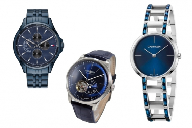 JUTA-Watches in blue