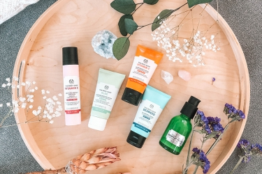 The Body Shop -  face care with SPF