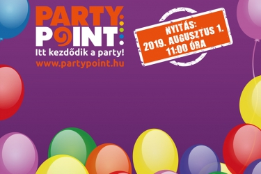 Party Point-Kezdődik a party!