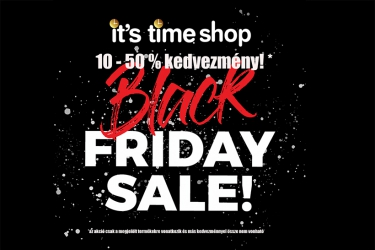It's time shop - Black Friday
