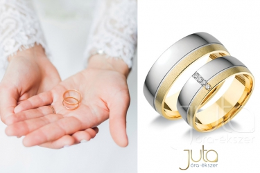 Wedding rings from Juta